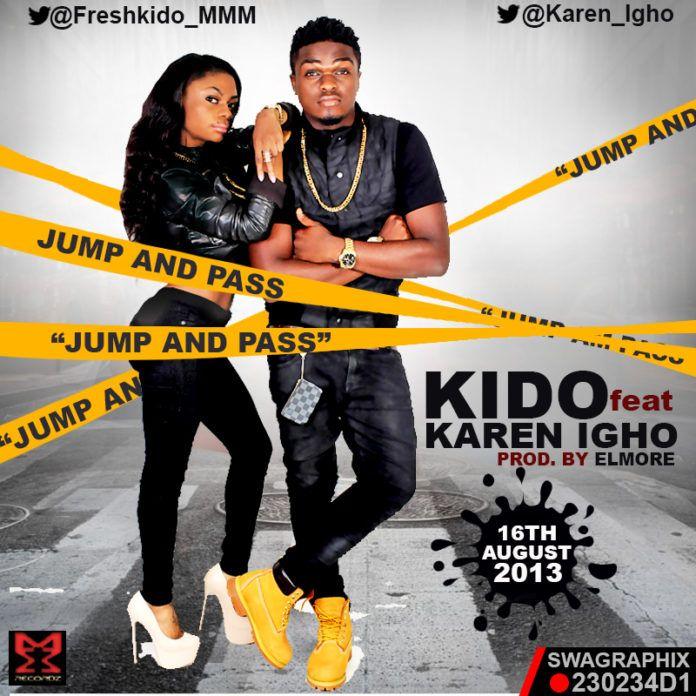 Kido ft. Karen Igho - JUMP AND PASS [prod. by ElMore] Artwork | AceWorldTeam.com