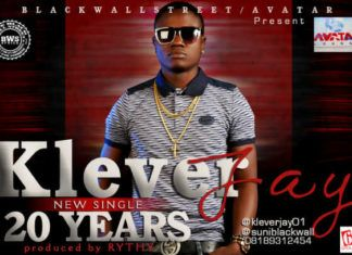 Klever Jay - 20 YEARS [prod. by Rythm] Artwork | AceWorldTeam.com