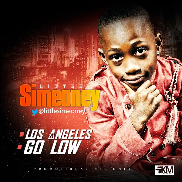 Little Simeoney - GO LOW ft. SnowIce + LOS ANGELES Artwork | AceWorldTeam.com