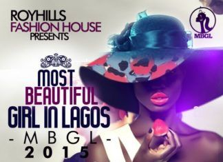 MOST BEAUTIFUL GIRL IN LAGOS - MBGL 2015 Artwork | AceWorldTeam.com