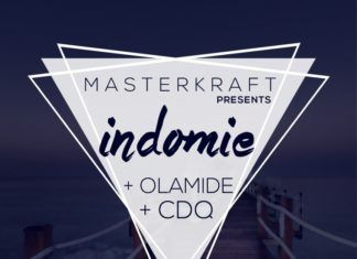 MasterKraft ft. Olamide & CDQ - INDOMIE Artwork | AceWorldTeam.com