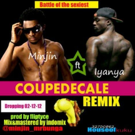 Minjin ft. Iyanya - COUPE DECALE Remix Artwork