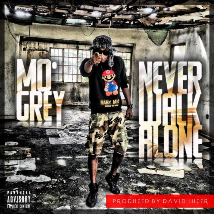 Mo'Grey - NEVER WALK ALONE [prod. by David Luger] Artwork | AceWorldTeam.com