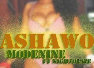 ModeNine ft. NightBlaze - ASHAWO Artwork | AceWorldTeam.com
