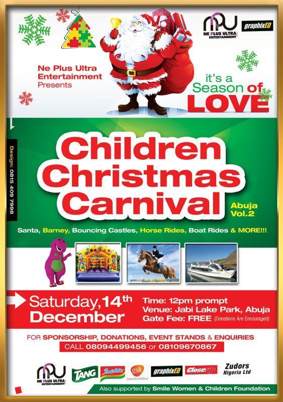 Ne Plus Entertainment - CHILDREN CHRISTMAS CARNIVAL Artwork   AceWorldTeam.com