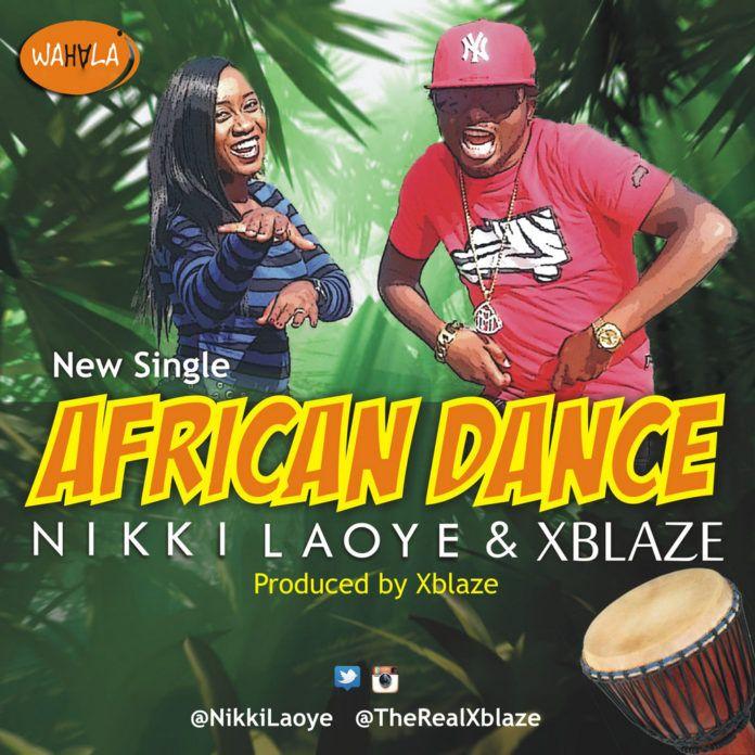 Nikki Laoye & Xblaze - AFRICAN DANCE Artwork | AceWorldTeam.com