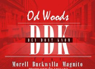 OD Woods ft. Morell, Buckwylla & Magnito - #DDK [Dey Don't Know ~ prod. by Mojarz] Artwork | AceWorldTeam.com