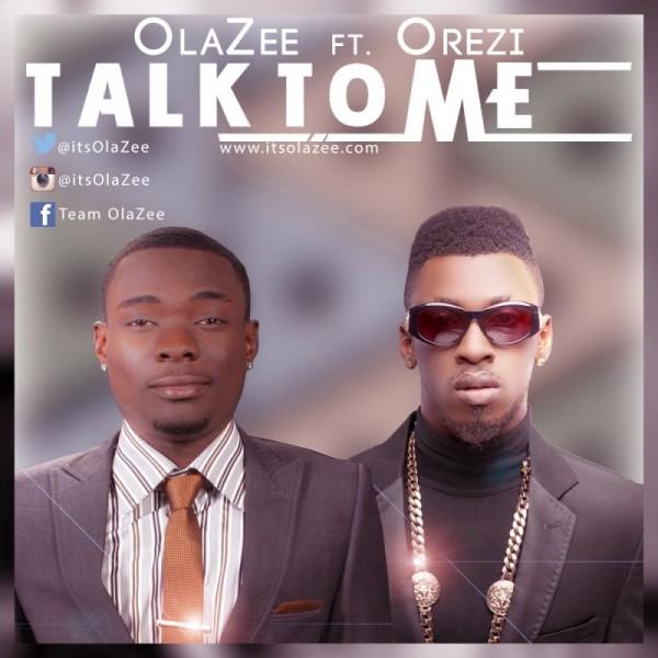 OlaZee ft. Orezi - TALK TO ME [prod. by Chimbalin] Artwork | AceWorldTeam.com