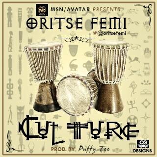 Oritse Femi - CULTURE [prod. by Puffy Tee] Artwork   AceWorldTeam.com