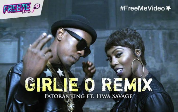 Patoranking ft. Tiwa Savage - GIRLIE O Remix Official Video] Artwork | AceWorldTeam.com