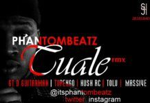 Phantom Beatz ft. GT Da Guitarman, Tupengo, Tolu, Massive & Hush RC - TUALE Remix Artwork | AceWorldTeam.com