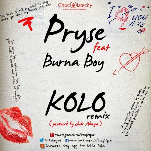 Pryse ft. Burna Boy - KOLO Remix [prod. by M.I] Artwork | AceWorldTeam.com