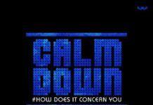 Psalms Ali ft. Shayo Davids - CALM DOWN [How Does It Concern You] Artwork   AceWorldTeam.com
