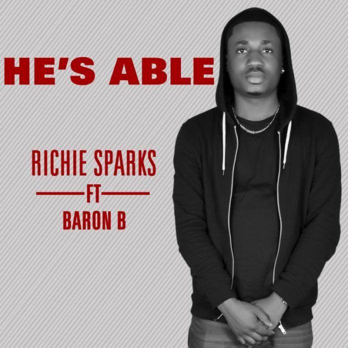Richie Sparks ft. Baron B - HE'S ABLE Artwork | AceWorldTeam.com