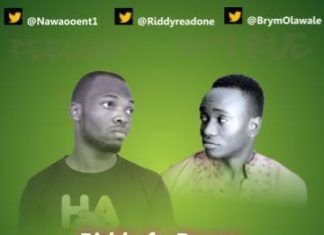 Riddy ft. BrymO - FEELING SO TRUE Artwork | AceWorldTeam.com