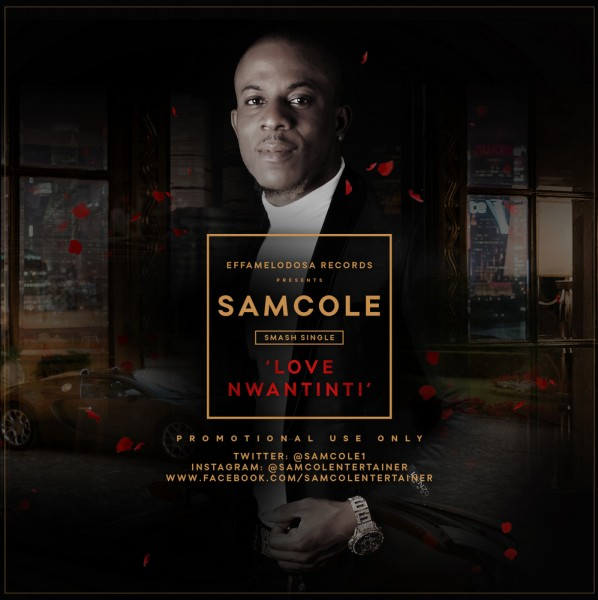 Samcole - LOVE NWATINTI [prod. by Magic] Artwork | AceWorldTeam.com