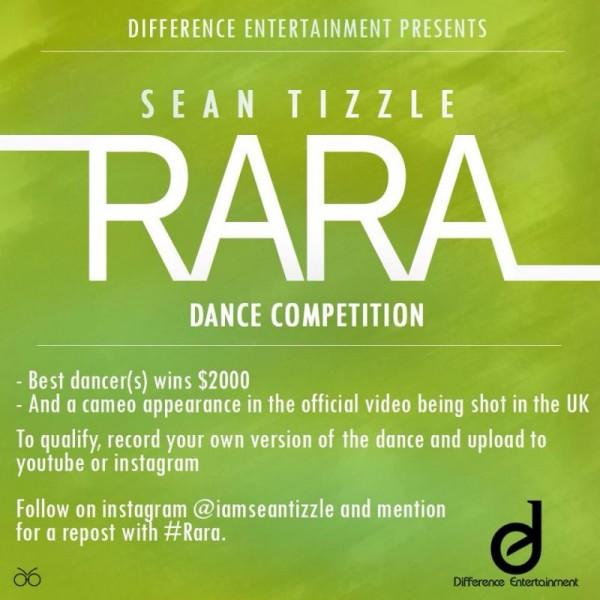 Sean Tizzle - RARA [Dance Competition ~ WIN $2000] Artwork | AceWorldTeam.com