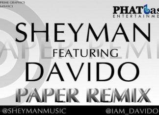 Sheyman ft. DavidO - PAPER Remix Artwork | AceWorldTeam.com