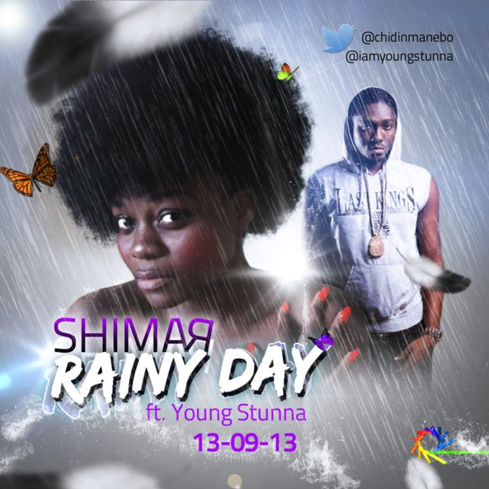 ShimaR ft. Young Stunna - RAINY DAY Artwork | AceWorldTeam.com