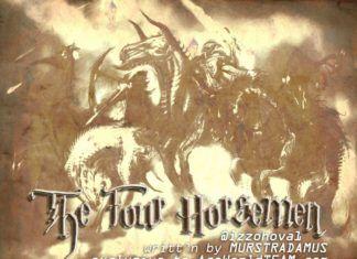 THE FOUR HORSEMEN ...writt'n by Murstradamus Artwork | AceWorldTeam.com