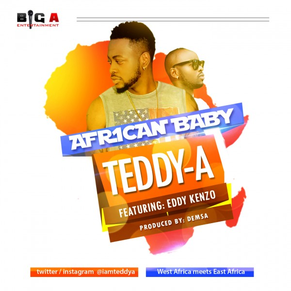 Teddy-A ft. Eddy Kenzo - AFRICAN BABY [prod. by Demsa] Artwork | AceWorldTeam.com