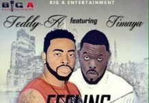 Teddy-A ft. Timaya - FEELING THE BOY [prod. by Young D] Artwork   AceWorldTeam.com