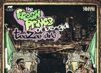 Teezee [of DRB Lasgidi] - #FRESHPRINCEOFLASGIDI [Mixtape] Artwork   AceWorldTeam.com