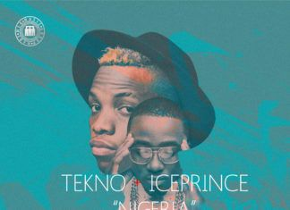 Tekno & Ice Prince - NIGERIA [prod. by BossBeatz] Artwork | AceWorldTeam.com