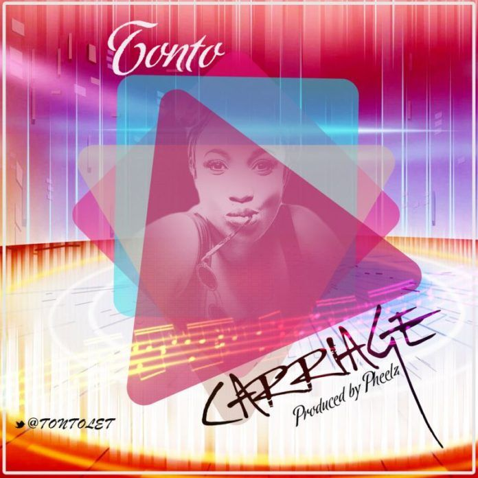 Tonto Dikeh - CARRIAGE [prod. by Pheelz] Artwork | AceWorldTeam.com