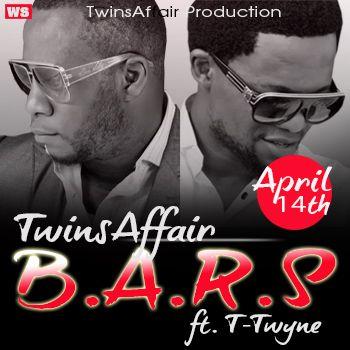 Twins Affair ft. T-Twyne - B.A.R.S Artwork | AceWorldTeam.com