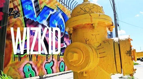 Wizkid - IN MY BED [Official Video] Artwork | AceWorldTeam.com