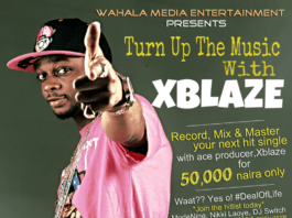 Xblaze - 1AM Freestyle + ₦50,000 Music Production Promo Artwork | AceWorldTeam.com