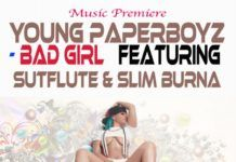 Young Paperboyz ft. Sutflute & Slim Burna - BAD GIRL Artwork | AceWorldTeam.com