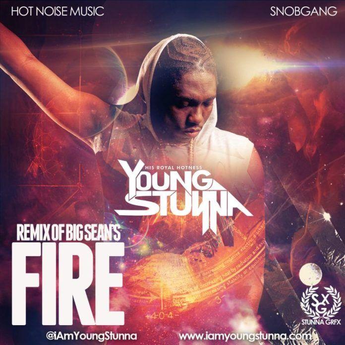 Young Stunna - FIRE Remix [a Big Sean cover] Artwork | AceWorldTeam.com