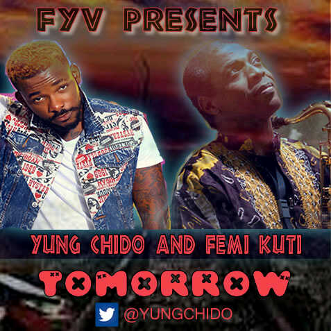 Yung Chido & Femi Kuti - TOMORROW [prod. by iPitch] Artwork | AceWorldTeam.com