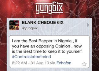 Yung6ix - #ONETWEET [Notice ~ prod. by BallerTosh] Artwork | AceWorldTeam.com