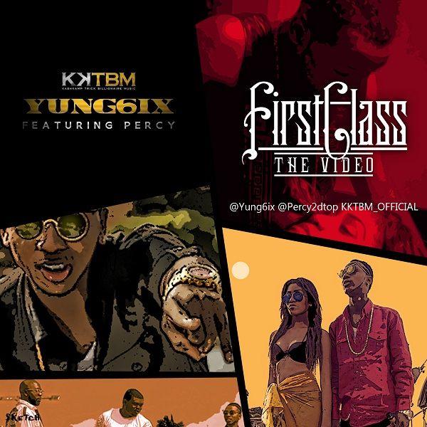 Yung6ix ft. Percy - FIRST CLASS [Official Video] Artwork | AceWorldTeam.com